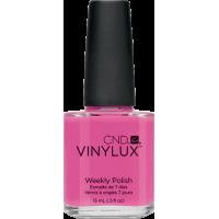 Лак CND Vinylux Weekly Polish 121 Hot Pop Pink яркий насыщенно-розовый, фуксия, 15 мл