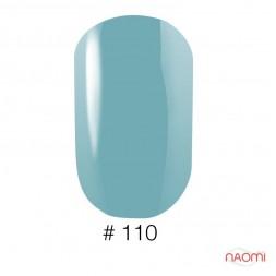Лак Naomi 110 голубой, 12 мл