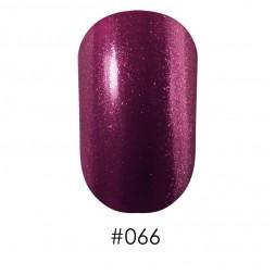 Лак Naomi 066 фиолетовый с сиреневыми мелкими блестками, 12 мл