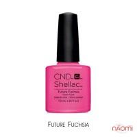 CND Shellac Art Vandal Future Fuchsia розово-неоновый с микроблеском, 7,3 мл