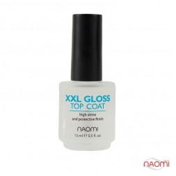 Топ для мега-яркого блеска Naomi XXL Mega Gloss, 15 мл