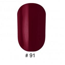 Лак Naomi 091 темный бордово-вишневый, 12 мл