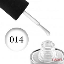 Лак NUB 014 Vivid White білий, 14 мл