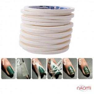 Стрічка-трафарет для дизайну нігтів, 5 мм