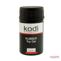 Топ каучуковый Kodi Professional для гель лака Rubber Top, без кисточки, 14 мл