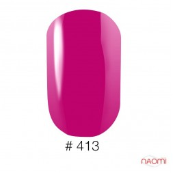 Лак Naomi 413 фуксия, 12 мл