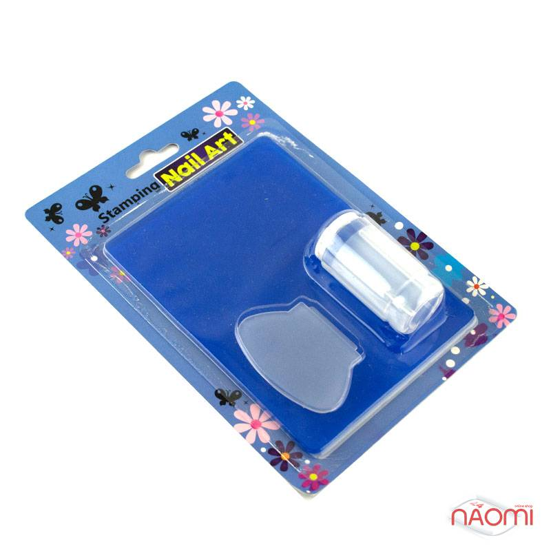 Набор для стемпинга Stamping Nail Art, штамп, скрапер и пластина, фото 11, 80.00 грн.