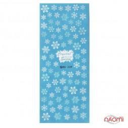 Слайдер-дизайн DS 239 Снежинки
