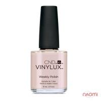 Лак CND Vinylux Weekly Polish 195 Naked Naivete светлый розовый, эмалевый, 15 мл