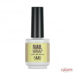 Шелковый уплотнитель для ногтей NUB Nail Wrap, 15 мл