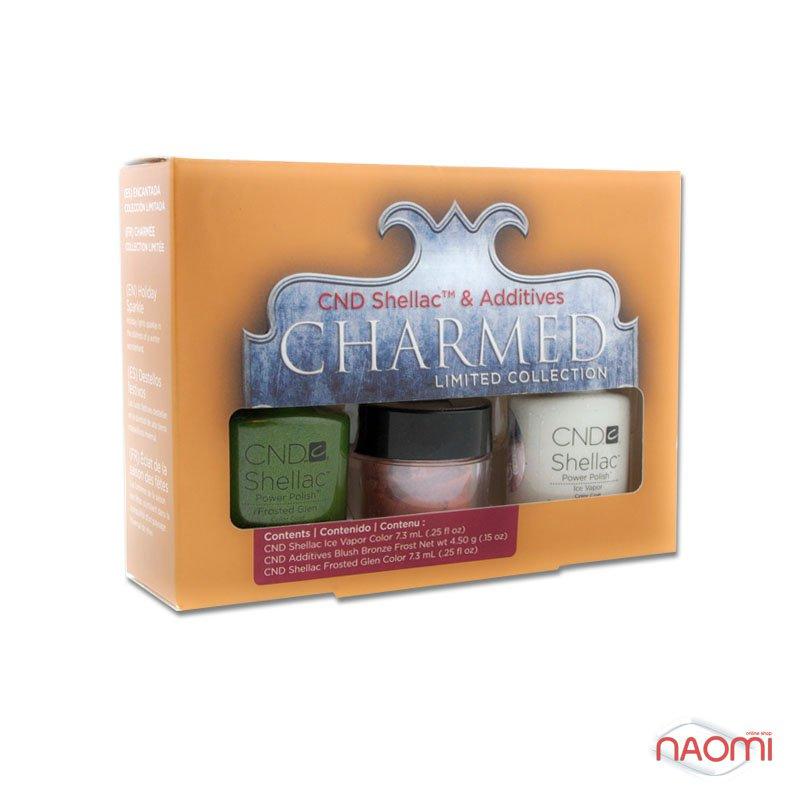 CND Shellac Holiday Duo Kit( 2 гель-лака+пигмент), фото 1, 634.00 грн.