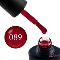 Гель-лак NUB 089 Dark Love бордовий, 8 мл