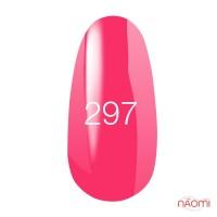 Гель-лак Kodi Professional №297 колір неоновий рожевий, емалевий, 8 мл