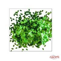 Декор для ногтей ромбики, цвет зеленый