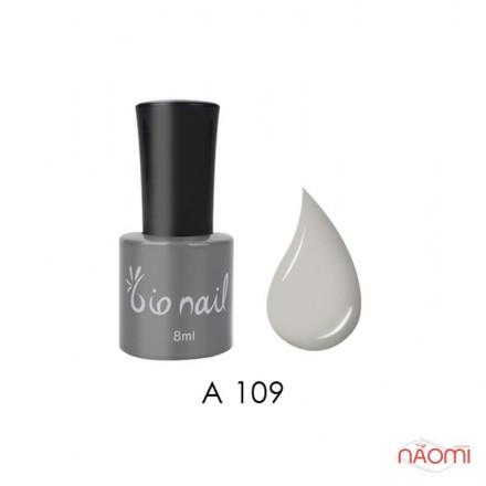 Гель лак BioNail A 109 Grey светло-серый, эмалевый, 8 мл, фото 1, 194.00 грн.