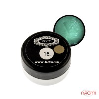 3D Гель-пластилин KOTO 16 темно-бирюзовый, 5 г