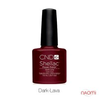 CND Shellac Dark Lava, 7,3мл