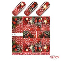 Слайдер-дизайн N 832 Зима, Новый год