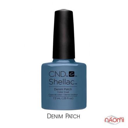 CND Shellac Craft Culture Denim Patch серо-голубой, 7,3 мл, фото 1, 299.00 грн.