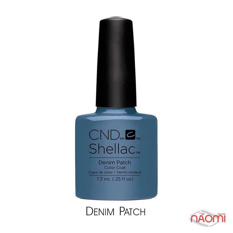 CND Shellac Craft Culture Denim Patch серо-голубой, 7,3 мл, фото 1, 339.00 грн.