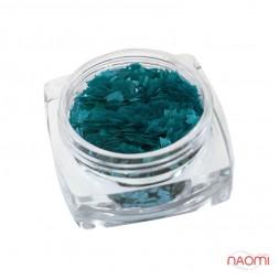 Декор для нігтів Salon Professional Ромбики, колір бірюзовий ppr 016