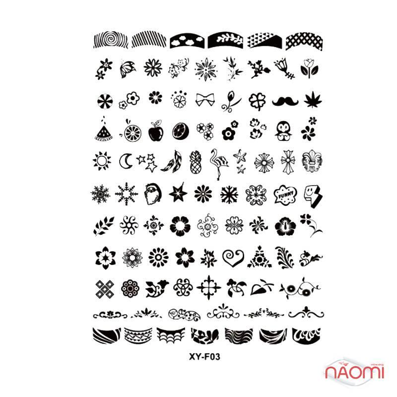 Набор для стемпинга Stamping Nail Art, штамп, скрапер и пластина, фото 5, 80.00 грн.