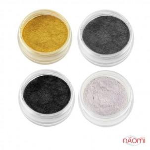 Набор песка для втирки, 4 цвета, 12 шт.