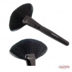 Кисть для макияжа PARISA P00, веерная, синтетика