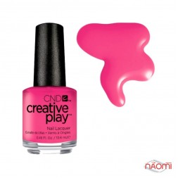 Лак CND Creative Play (474) Peony Ride, рожевий, 13,6 мл