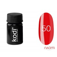 Гель-краска Kodi Professional 50, цвет красный, 4 мл