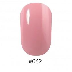Лак Naomi 062 бледный молочно-розовый, 12 мл