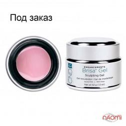 Моделюючий гель нейтрально-рожевий непрозорий CND Brisa Neutral Pink - Opague Sculpting Gel, 42 г