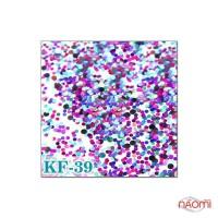 Декор для ногтей конфетти (камифубуки) KF 039