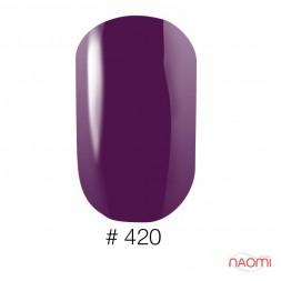 Лак Naomi 420 фиолетовый, 12 мл