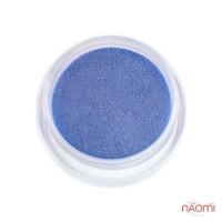 Акриловая пудра, цвет синий