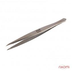 Пінцет Kodi Professional для корекції форми брів К 02, 9 см
