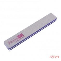 Полировщик для ногтей Niegelon 100/180 фиолетовый 0594