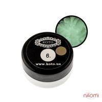 3D Гель-пластилин KOTO 06 светло-зеленый, 5 г
