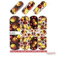 Слайдер-дизайн N 623 Цветы