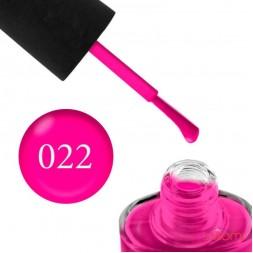 Лак NUB 022 High Voltage неоново-розовый, 14 мл