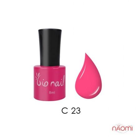 Гель лак BioNail C 023 Fluorescense Pink неоново-розовый, 8 мл, фото 1, 194.00 грн.