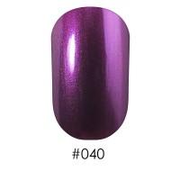 Лак Naomi 040 ярко-фиолетовый перламутр, 12 мл