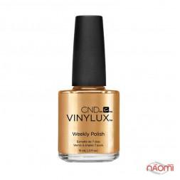 Лак CND Vinylux Craft Culture 229 Brass Button желтое золото, с перламутровым мерцанием, 15 мл