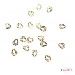 Логотипи - Оправа для рідких каменів Крапля (овал, золото) Logo-203