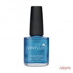 Лак CND Vinylux Weekly Polish 157 Water Park яркий перламутрово-синий, 15 мл