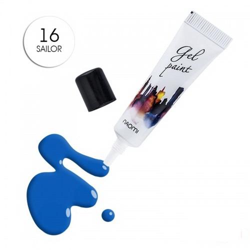 Гель-паста Naomi № 16 Sailor синий, 10 г, фото 1, 185.00 грн.