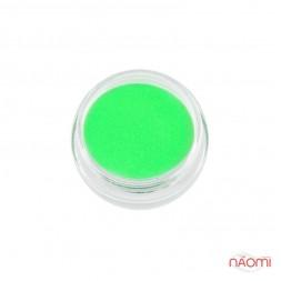 Акрилова пудра My Nail № 100, колір салатовий неон, 2 г