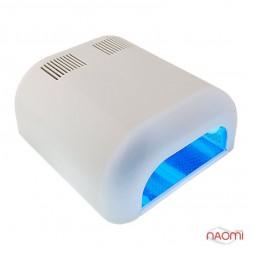 УФ лампа для ногтей 36W ST-230 Gel Curing, таймер на 120 сек. и режим бесконечности, цвет белый ТЕРЛ