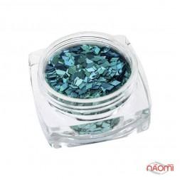 Декор для ногтей Salon Professional  Ромбики, цвет голубой Blue Alpha 008