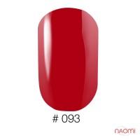 Лак Naomi 093 красная рябина, 12 мл